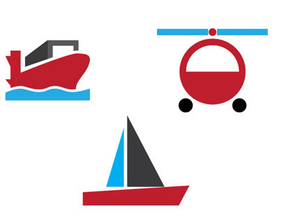 Transport Vector Icons - Set 1