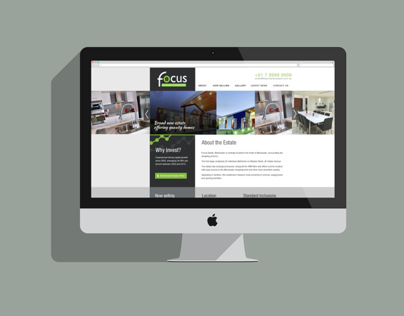 Focus Estate Website - Work in Progress
