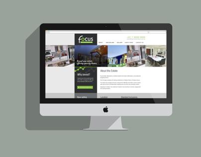Focus Estate Website - Work in Progress