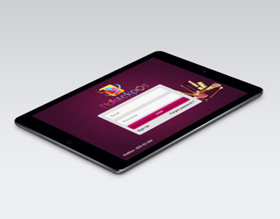 SalonPOS - UI Ipad