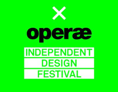 Operae 2013 - Self-produced Design Sales Exhibition