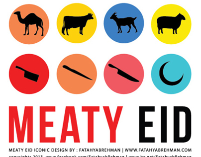 MEATY EID ICONIC DESIGN BY FATAHYAB REHMAN