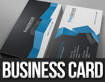 Freelance Origami Business Card