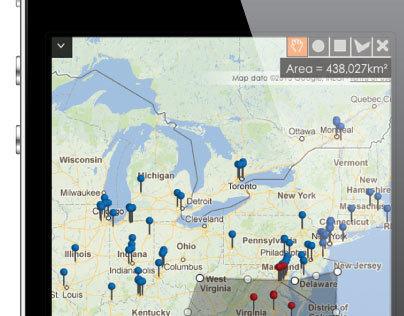 Maptycs Mobile Application