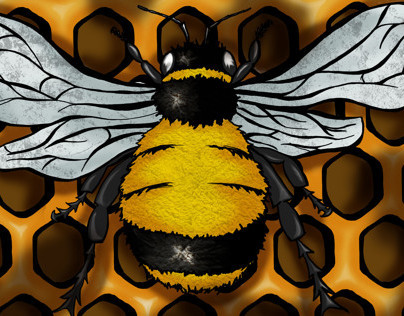 Electronic Illustration Bee