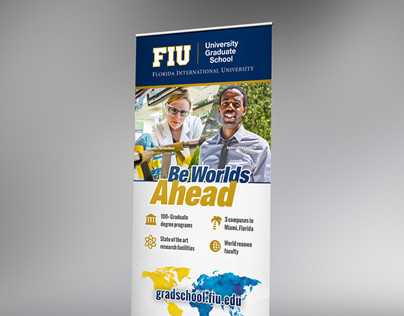 FIU Graduate School Recruitment Banner