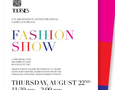 Invitation // TOOTSIES & Briar Club Fashion Show