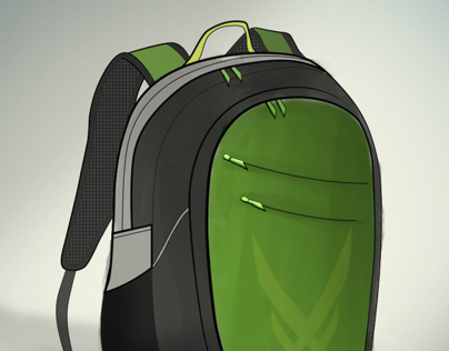 Action Sports Backpack Design Concepts