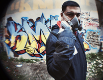 Graffiti With KMR
