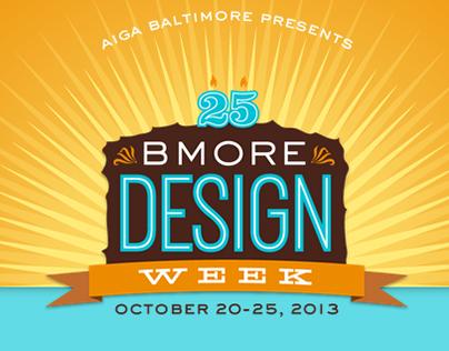 AIGA Baltimore   Design Week 2013