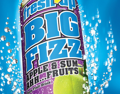 Fresh Up - Big Fizz Can Wrap