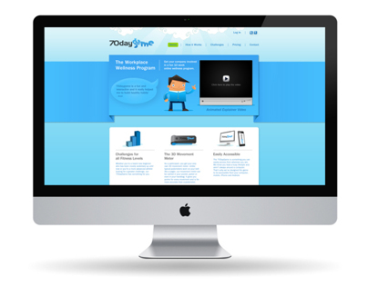 70DayGame Website rebrand