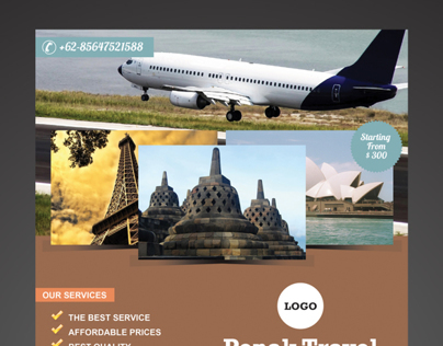Penak Travel Flyer