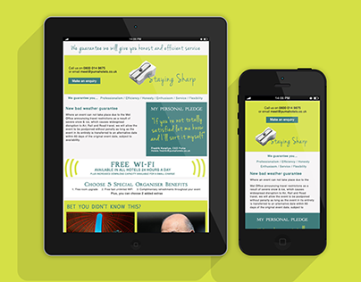 Responsive Emails Newsletter Design