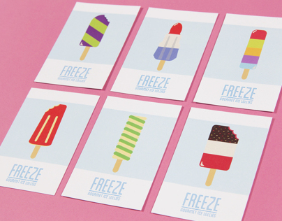 FREEZE Ice Lollies