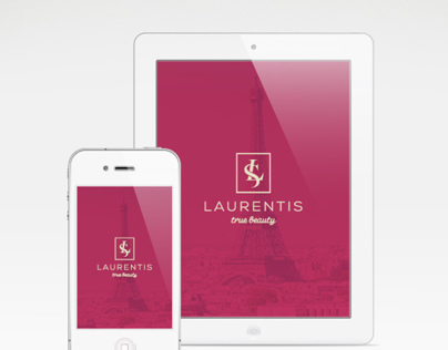Laurentis, beauty salon - Rebrand