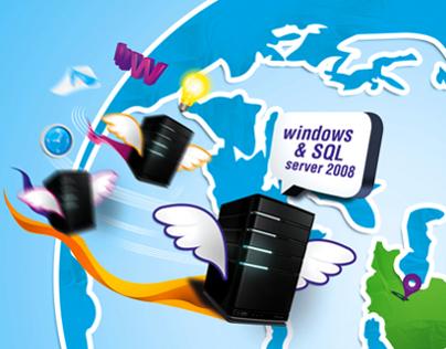 Flying Servers