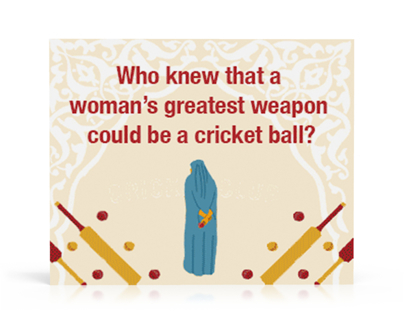 The Taliban Cricket Club - Digital Banner ad
