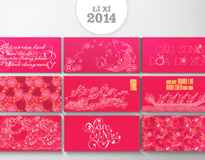 Li xi 2014 - Lucky money bag