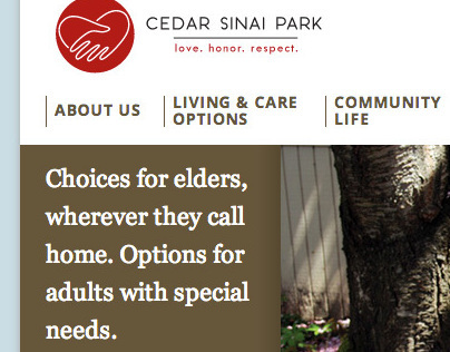 Cedar Sinai Park Website