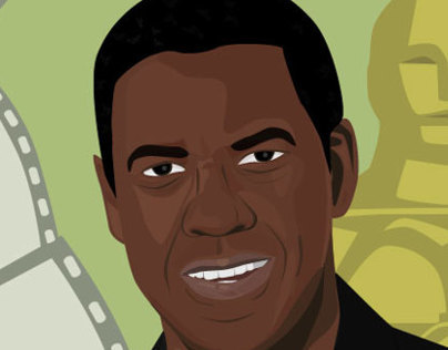 Denzel Washington Illustration