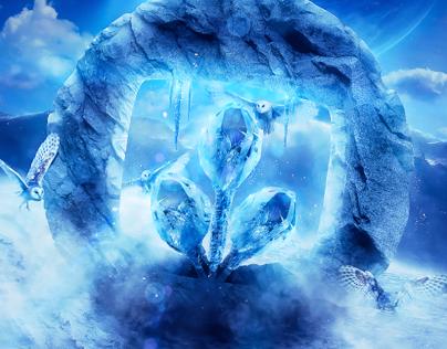 Desktopography 2013: Icy Winds