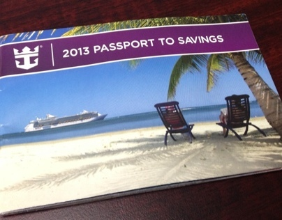 Royal Caribbean Passport to Savings Coupon Booklet