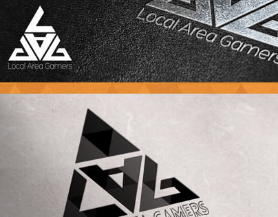 Local Area Gamers Logo Design