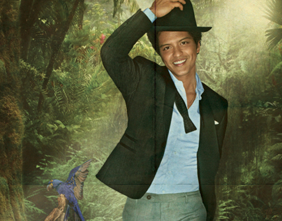 Bruno Mars - The Moonshine Jungle Tour Promo Poster