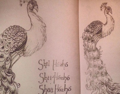 Peacocks/ Shil Hozho