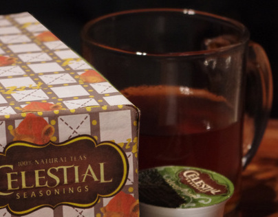 Keurig Package Re-Design: Sleepytime Herbal Tea