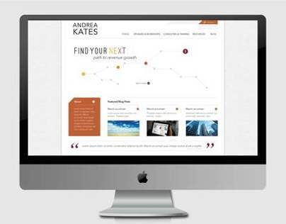 Andrea Kates - Website Design