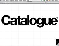 Web prototype 2 - Catalogue fashion magazine