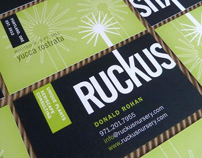Ruckus Nursery | Brand identity