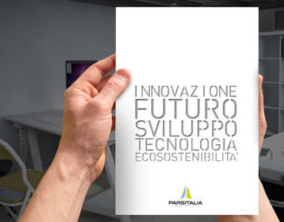 Corporate brochure for Parsitalia Real Estate