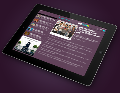 MTV News for iPad (UK)