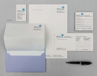 Corporate Design for psychologist practice Julia Werres