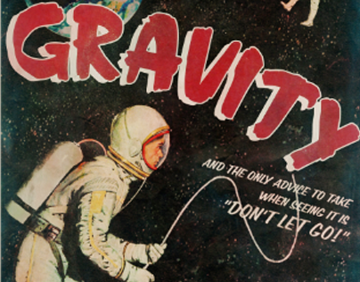 Gravity - Alternative movie poster