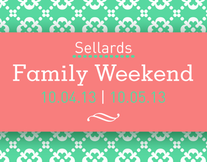 Sellards Hall Family Weekend