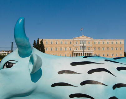 Cow Parade in Athens