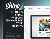 Shine - psd template