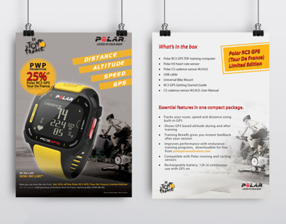 PWP flyer design (Perform Bike)