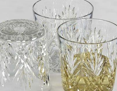 Whisky Glass - Glassware 3D Model for Sale -3D Squirrel