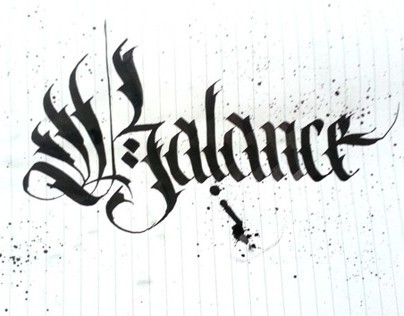 Sketchbook Calligraphy Fun vol.1