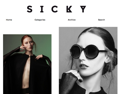 LAUREN MOODY on Sicky Magazine, Madrid.