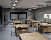 Revit School Model and Renders