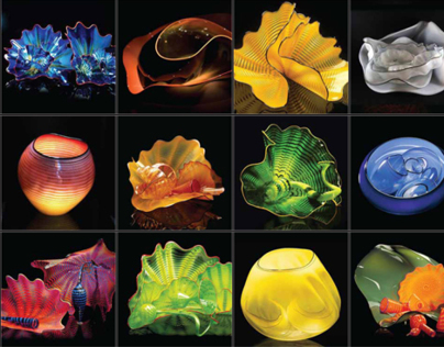 Chihuly Website Concept