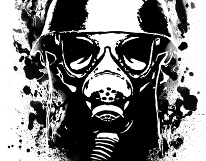 Halloween Gas Mask Shirt