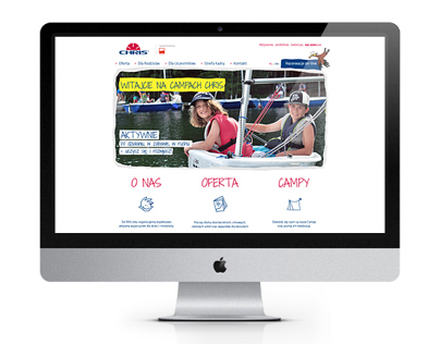 Chris - Website layout