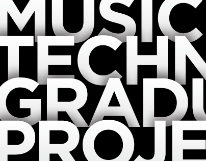 AUC Music Technology Graduation Campaign